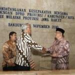 Penandatanganan Kesepakatan Bersama antara BPK RI dan DPRD Se-Jabar